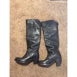 Authentic Frye Black Leather Boots